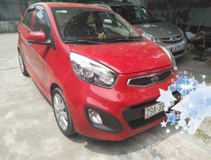 Cần bán gấp Kia morning 2011, màu đỏ, nhập khẩu nguyên chiếc