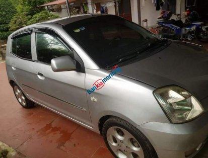 Bán xe Kia Morning sản xuất năm 2007, màu bạc, nhập khẩu, bản đủ