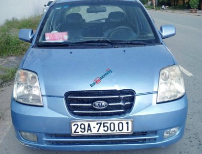 Bán ô tô Kia Morning LX 1.0 MT 2007, màu xanh lam, nhập khẩu chính chủ