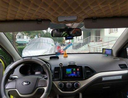 Bán xe Kia Morning 2015, màu xanh lục, số sàn