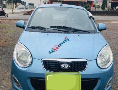 Cần bán Kia Morning đời 2011, màu xanh lam, số sàn