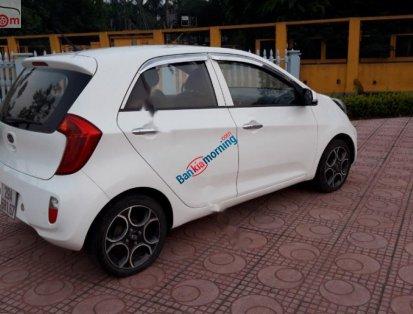 Bán Kia Morning năm sản xuất 2013, màu trắng, xe nhập, chính chủ