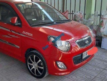 Cần bán Kia Morning MT năm sản xuất 2011, màu đỏ, giá tốt