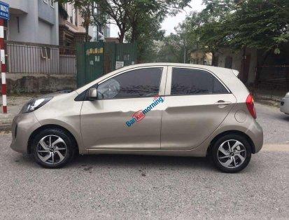 Cần bán xe Kia Morning sản xuất 2016, màu xám, giá 225tr