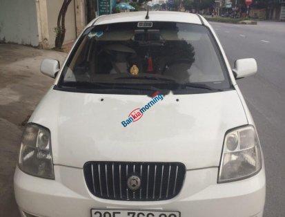 Bán Kia Morning đời 2005, màu trắng, xe nhập