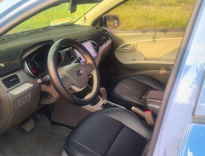 Cần bán lại xe Kia Morning đời 2015, màu xanh lam, xe nhập